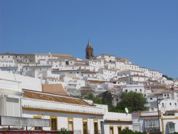 White hill top towns of the Cadiz area