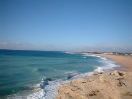Wide open beaches of Conil