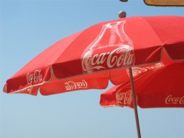 Only for shade, never for rain at Barrosa