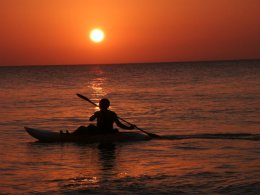 Peace and sunsets at Barrosa beach